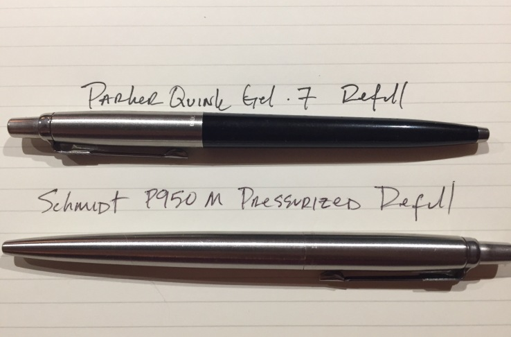 Schmidt and Parker writing samples